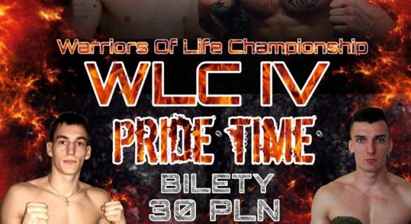 """Fighcard gali WLC4″ Pride Time"""" w Koluszkach"""