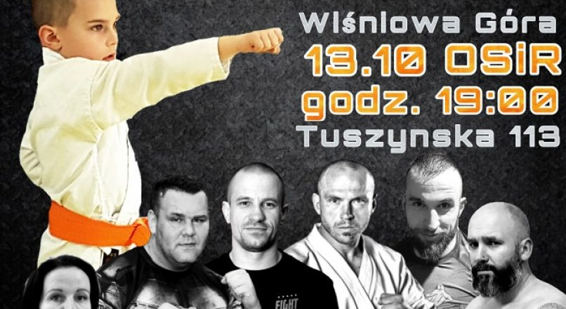 "Warriors of Life Championship – WLC5″ Let's Awake Alan"" w Wiśniowej Górze"