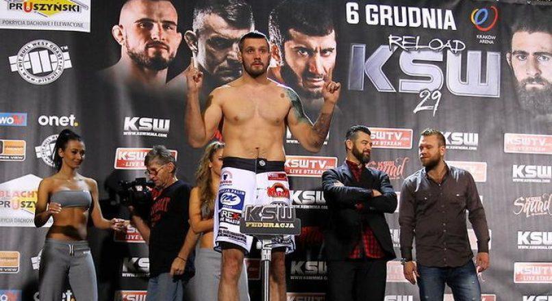Były zawodnik KSW Karol Celiński wygrał walkę pierwszą na naszej gali!