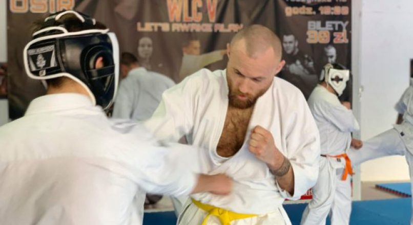 Jakub Bielnicki wystąpi na gali Polish Pro Karate Championship w Wiśniowej Górze