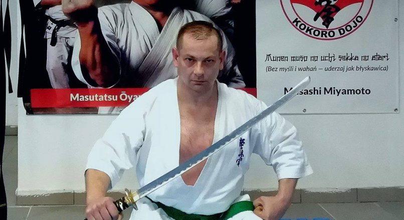 Grzegorz Wiśnik wystąpi na Polish Pro Karate Championship w Wiśniowej Górze